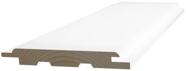 Sisustuspaneeli 15x120x2980 mm STP valkoinen SPA - 2