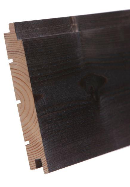 Sisustuspaneeli Aure 14x120x2370 mm STS/3 harjattu savusauna