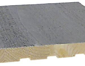 Sisustuspaneeli Siparila STRUKTUURI 15x176x2350 mm STS/6 helmiäisharmaa