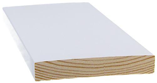 Smyygilista 15x120x3300 mm mänty valkoinen
