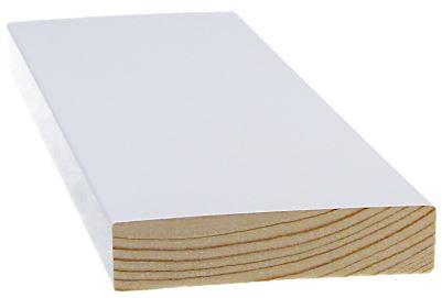Smyygilista 15x70x3300 mm mänty valkoinen