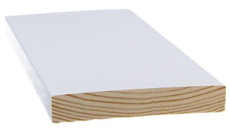 Smyygilista 15x90x3300 mm mänty valkoinen
