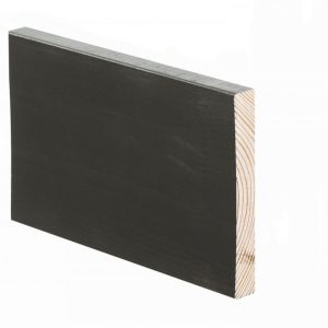 Smyygilista mänty 15x118x3300 mm saunasuojattu ebenholz-sävy