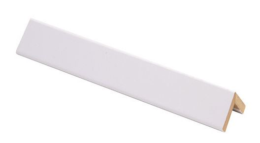 Taitelista Maler 4x20x20x2750 mm MDF puhdas valkoinen