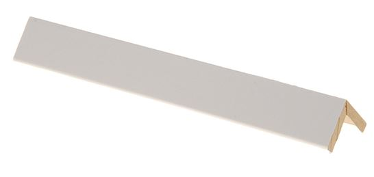Taitelista Maler 4x20x20x2750 mm MDF valkoinen