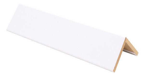 Taitelista Maler 4x40x40x2750 mm MDF puhdas valkoinen
