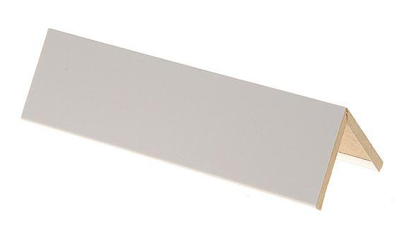 Taitelista Maler 4x40x40x2750 mm MDF valkoinen