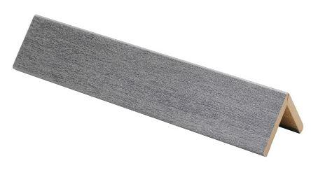 Taitelista Maler ART 4x30x30x2750 mm MDF Metalli Titaani