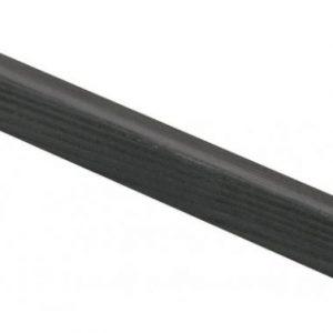 Varjolista 15x18x3600 mm saunasuojattu hiili