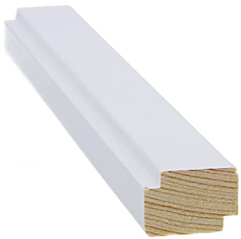 Varjolista 16x24x3300 mm valkoinen