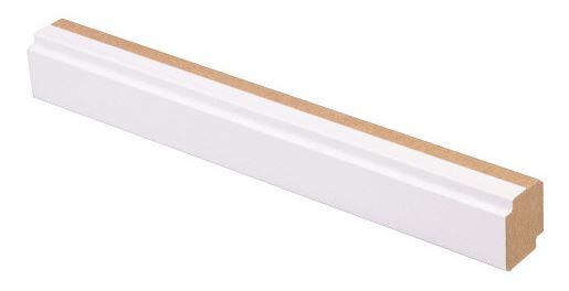 Varjolista MDF 16x19x2750 mm puhdas valkoinen