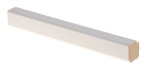 Varjolista MDF 16x19x2750 mm valkoinen