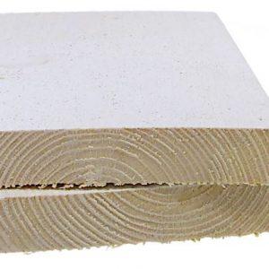 Aitalauta 20x120 mm pohjamaalattu valkoinen