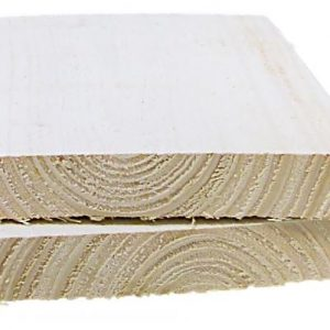 Aitalauta 20x145 mm pohjamaalattu valkoinen