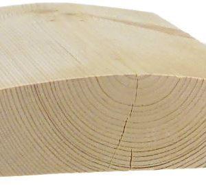 Kaidepuu puuvalmis 45x120 mm