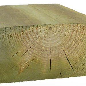 Kestopuu sahattu vihreä 75x150x6000 mm