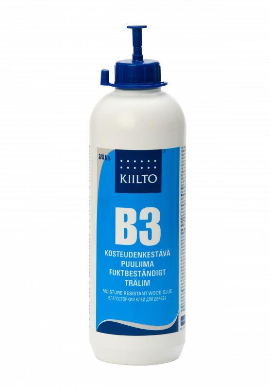Kosteudenkestävä liima Kiilto B3 0