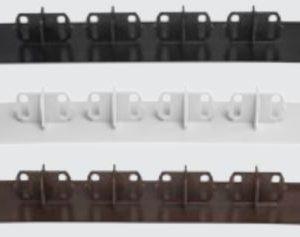 Luna TWPC päätytulppa 26mm vahvalle komposiittilaudalle ruskea 20 kpl/pss