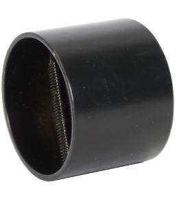 Päätytulppa 38 mm musta