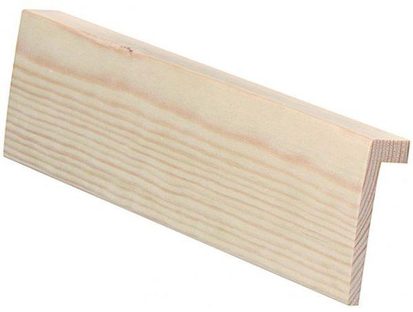 Reunalista 21x70/13 mm mänty puuvalmis