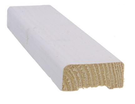 Saumarima 20x45 mm HSP pohjamaalattu valkoinen