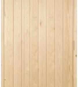 Saunanovi 7x19 paneloitu mänty mäntykarmi