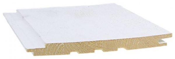 Sisustuspaneeli 15x176x2350 mm STS Struktuuri valkoinen 2-laatu