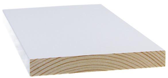Smyygilista 15x140x2400 mm mänty valkoinen