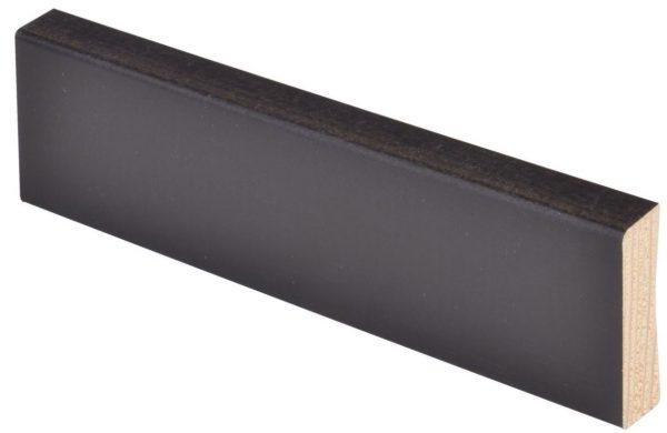 Smyygilista/jalkalista mänty 19x62x3300 mm musta