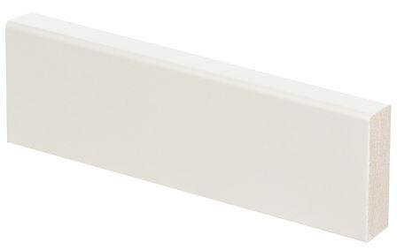 Smyygilista/jalkalista mänty 19x62x3300 mm valkoinen