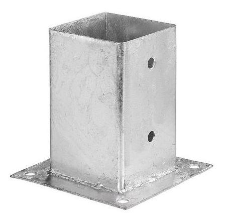 Teräsjalka B-malli 75x75x150 mm sinkitty
