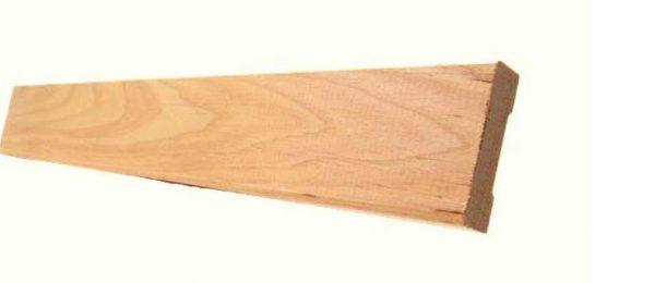 Tervaleppä peitelista 8x34 mm