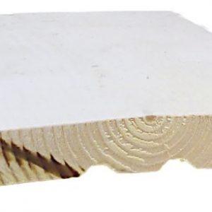 Ulkoverhouslauta 23x170 mm HSP pohjamaalattu valkoinen