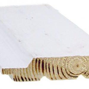 Ulkoverhouspaneeli 20x95 mm UTV pohjamaalattu valkoinen