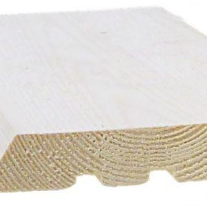 Ulkoverhouspaneeli 23x145 mm UTW pohjamaalattu valkoinen
