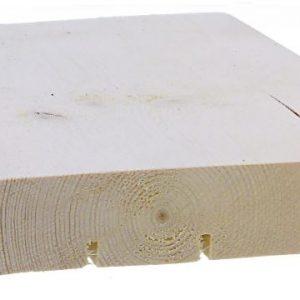 Ulkoverhouspaneeli 28x170 mm UTV pohjamaalattu valkoinen